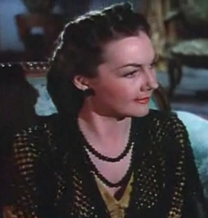 Lynn Bari - In the film Blood and Sand (1941)