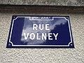 Lyon 8e - Rue Volney - Plaque 2 (mai 2019).jpg