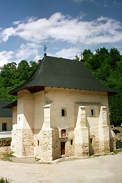 Old church of Pângărați Monastery