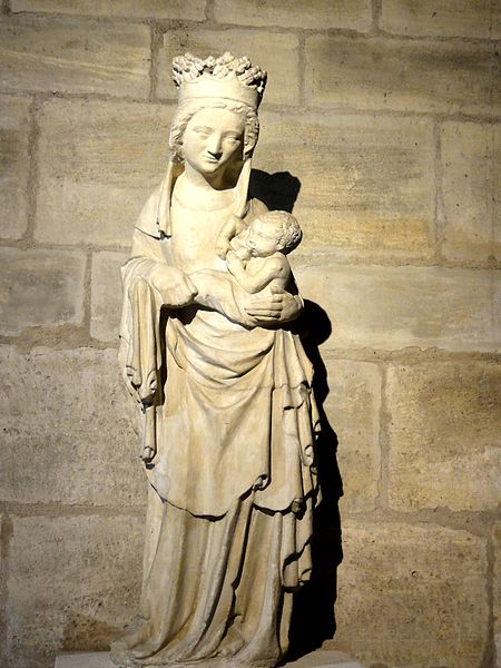 St Denis Church - Madonna with Child