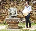 Mỹ Tâm at Mỹ Sơn Sanctuary 6.JPG