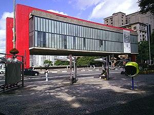 Lina Bo Bardi - The São Paulo Museum of Art (MASP), a well known work of Lina Bo Bardi