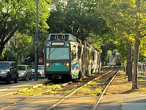 Light rail in the United States - MBTA Green Line, the most heavily utilized light rail system in the United States, serving Boston