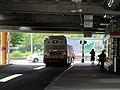 MBTA route 41 bus at Jackson Square, July 2016.JPG