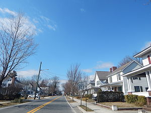 Queen Anne, Maryland - Main Street in Queen Anne