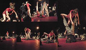 ImPulsTanz Vienna International Dance Festival - ImPulsTanz 2010 opening performance.