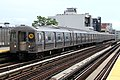 MTA NYC Subway N train arriving at 36th Ave.jpg