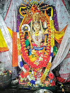 Maa Mangala Temple, Kakatpur building in India