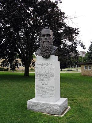 George Leslie Mackay - Mackay monument in Canada at Woodstock, Ontario.