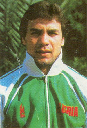 Algeria national football team - Madjer is considered one of the best football players in the history of Algeria.