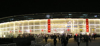 Madrid bid for the 2020 Summer Olympics - The Madrid Arena, proposed venue for the Handball competitions.