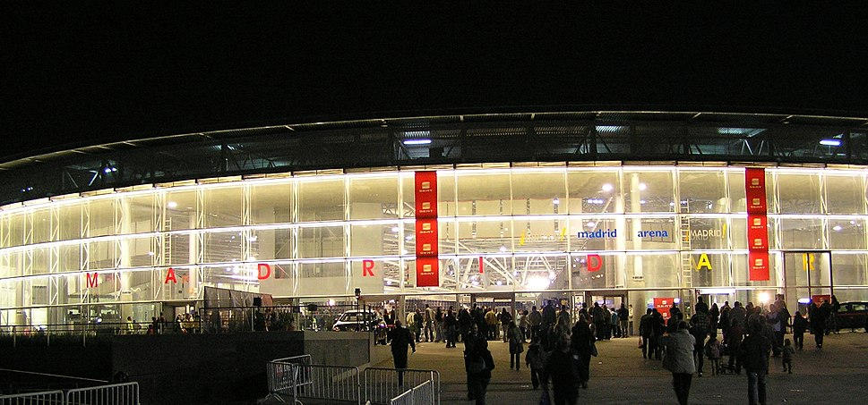 Madrid Arena Facade 01