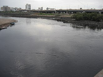 Vihar Lake - Mahim Creek where Mithi River joins and where the sweet water episode occurred in 2006