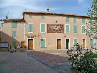 Gargas, Vaucluse - The town hall of Gargas