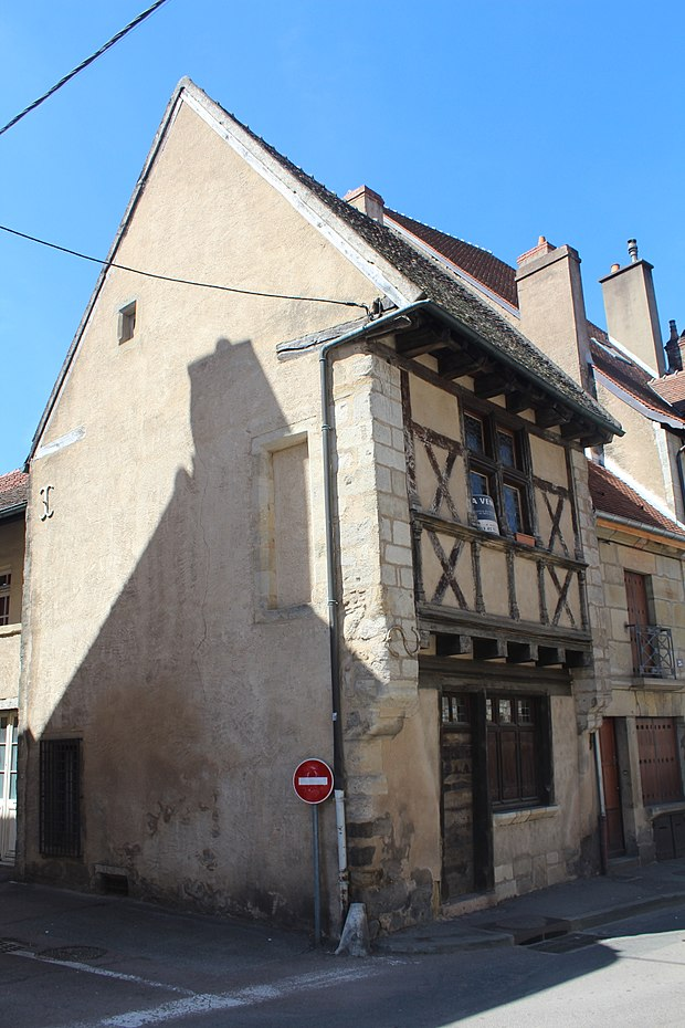 Monument historique à Autun