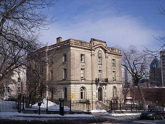 J. K. L. Ross - J.K.L. Ross House on Peel Street, Montreal, built in 1909