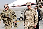 Maj. Gen. Terry escorts ISAF commander Gen. Allen at Kandahar Airfield DVIDS455822.jpg