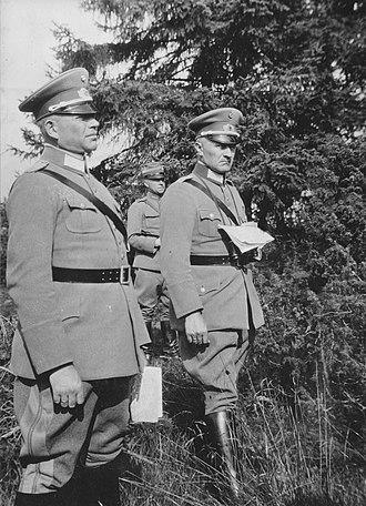 Heinz Guderian - Guderian in Sweden, 1929