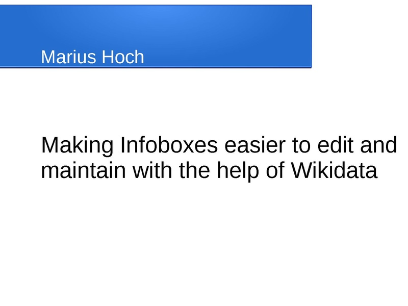 File:Making Infoboxes easier to edit and maintain with the help of Wikidata.pdf