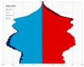 Malta single age population pyramid 2020.png