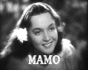Mamo Clark - from the trailer for the film  Mutiny on the Bounty (1935).