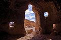 Man-Shaped Cavate Entrance at Tsankawi (5988535857).jpg