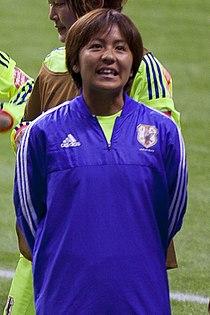 Mana Iwabuchi FIFA Women's World Cup Canada June 12th, 2015.jpg