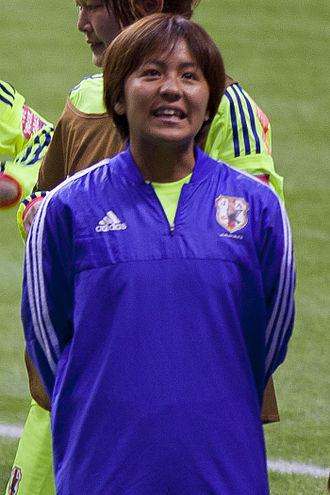 Mana Iwabuchi - Image: Mana Iwabuchi FIFA Women's World Cup Canada June 12th, 2015