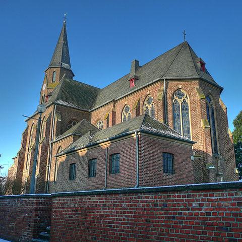 Foto der Kirche in Manheim