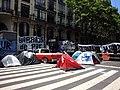 Manifestación piquetera en la Avenida de Mayo.jpg
