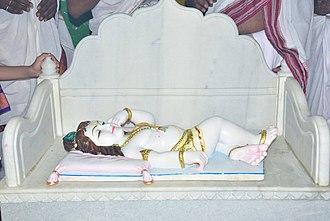 Manik Prabhu - Manik Prabhu's Baala Roopa Murti at his birthplace Ladawanti. The Manik Prabhu Mandir at Ladawanti is located on the exact place where Shri Prabhu was born.