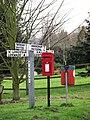Many signs - geograph.org.uk - 667338.jpg