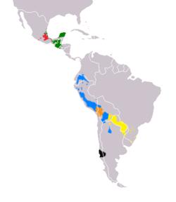 Lenguas Indígenas De América Wikipedia La Enciclopedia Libre