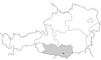 Map at klagenfurt
