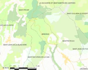 Arboras - Map