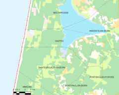 Map commune FR insee code 40108.png