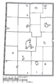 Map of Darke County Ohio Highlighting Castine Village.png