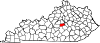 Map of Kentucky highlighting Boyle County.svg