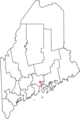 Map of Maine highlighting Belfast.png
