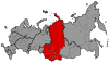 Map of Russia - Krasnoyarsk time zone.svg