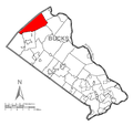 Map of Springfield Township, Bucks County, Pennsylvania Highlighted.png