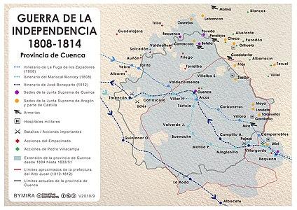 Provincia De Cuenca Wikipedia La Enciclopedia Libre