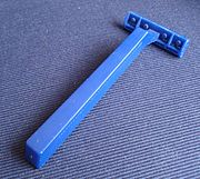 Maquinilla de afeitar desechable