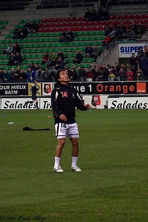 Marama Vahirua - Vahirua with Lorient in 2008