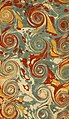 Marbled paper - Maupertuis de - Oeuvres - T1 - 1768, Lyon (page 3 crop).jpg