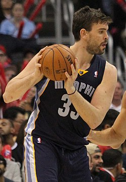 Center Marc Gasol