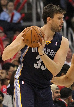 Marc Gasol - Gasol with the Grizzlies in 2013