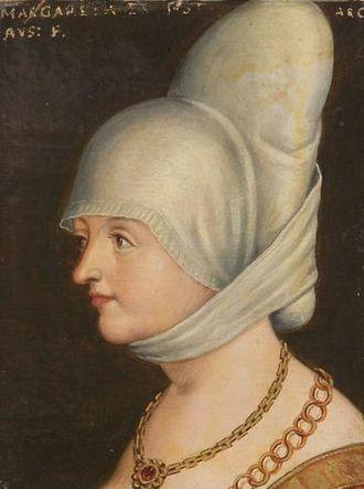 Margaret of Austria, Electress of Saxony - Portrait, about 1580