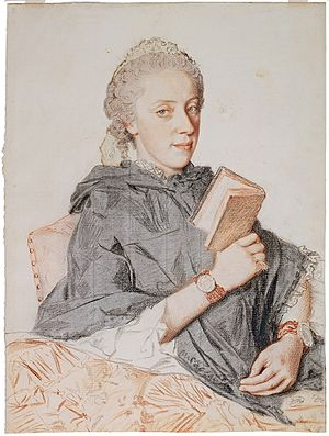 Archduchess Maria Anna of Austria (1738–1789) - Image: Maria Anna of Austria 1762 by Liotard