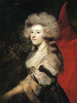 Maria Fitzherbert - Portrait by Sir Joshua Reynolds, 1788
